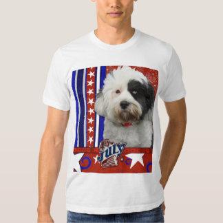 July 4th Firecracker - Tibetan Terrier Shirt