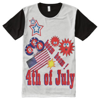July 4th fireworks All-Over print T-Shirt