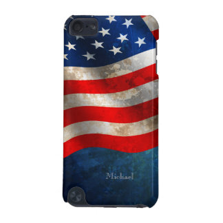 July 4th Independence Day America Grunge Flag iPod iPod Touch 5G Case