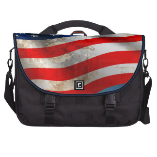 July 4th Independence Day America Grunge Flag Bags For Laptop