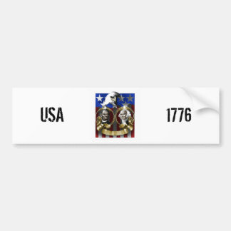 July 4th Independence Day Bumper Sticker