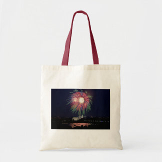 July 4th Independence Day fireworks Budget Tote Bag