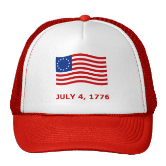 July 4th, Independence Day T-Shirts & Gifts Trucker Hat