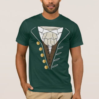July 4th Independence Day Tuxedo Cravat T Shirt