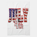 July 4th kitchen towels