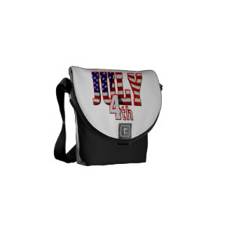 July 4th courier bag