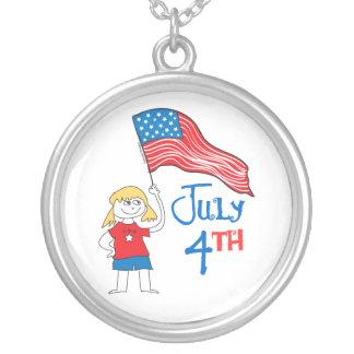 July 4th pendant