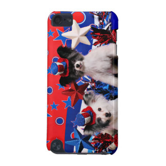 July 4th - Papillon - Franny and Bucky iPod Touch 5G Case