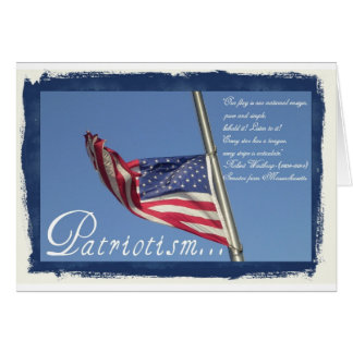 July 4th-Patriotism Card