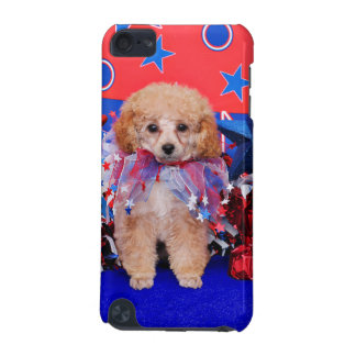 July 4th - Poodle - Lily iPod Touch (5th Generation) Covers