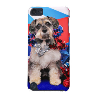 July 4th - Schnauzer X - Apache iPod Touch (5th Generation) Cases