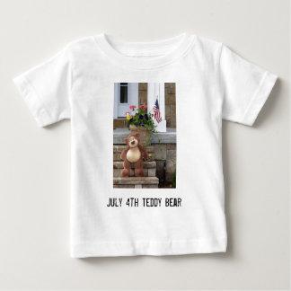 July 4th Teddy Bear Infant T-Shirt