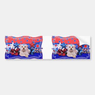 July 4th - Terrier X - Jango Bumper Stickers