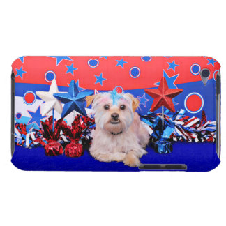 July 4th - Terrier X - Jango iPod Touch Case-Mate Case