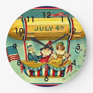 July 4th - The Day We Celebrate Wallclocks