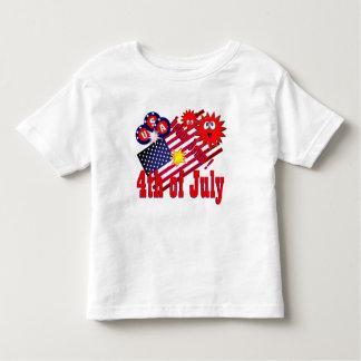 July 4th USA Toddler T-Shirt