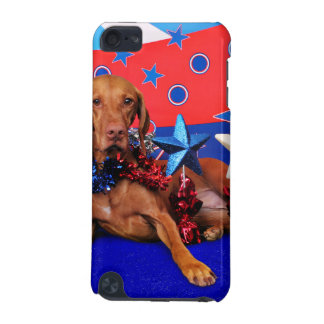 July 4th - Vizsla - Reagan iPod Touch (5th Generation) Cover