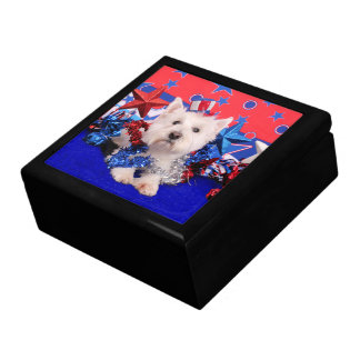 July 4th - Westie - Polo Gift Boxes