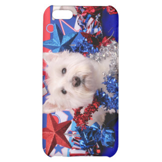 July 4th - Westie - Polo iPhone 5C Cases