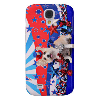 July 4th - Westie X - Lady Galaxy S4 Covers