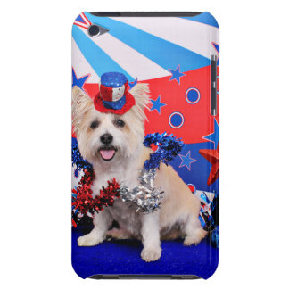 July 4th - Westie X - Lady Barely There iPod Case