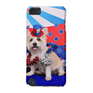 July 4th - Westie X - Lady iPod Touch 5G Cases