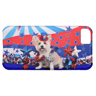July 4th - Westie X - Lady iPhone 5C Covers