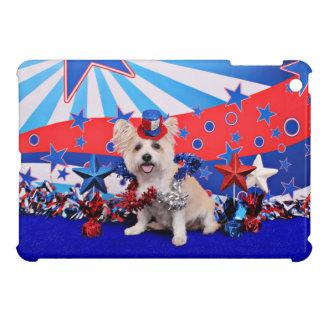 July 4th - Westie X - Lady iPad Mini Covers