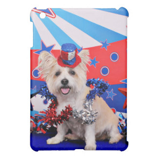 July 4th - Westie X - Lady iPad Mini Cases