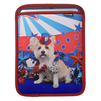 July 4th - Westie X - Lady Sleeves For iPads