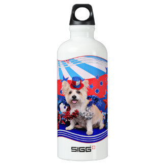 July 4th - Westie X - Lady SIGG Traveller 0.6L Water Bottle