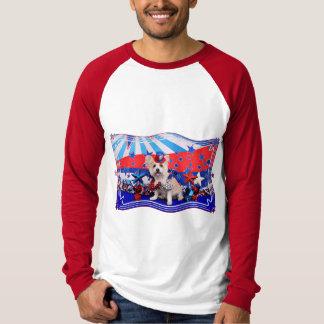July 4th - Westie X - Lady T-shirts