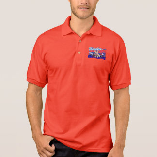 July 4th - Westie X - Lady Polo T-shirt