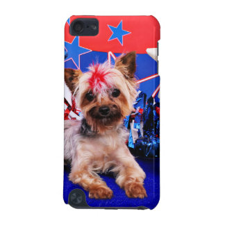 July 4th - Yorkie - Kinsey iPod Touch 5G Case
