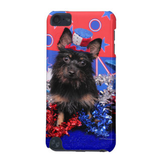 July 4th - Yorkie - Stella iPod Touch 5G Case