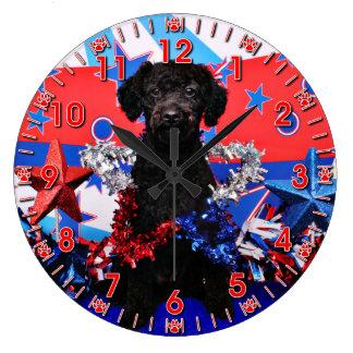 July 4th - YorkiePoo - Max Clocks