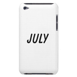 july iPod touch cover