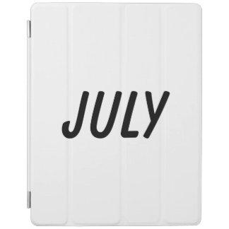july iPad cover
