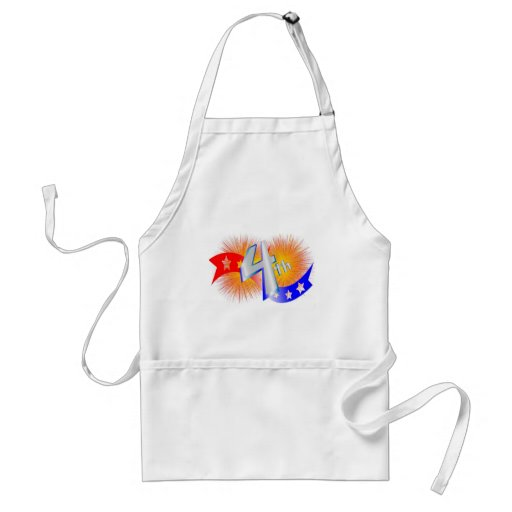 july forth aprons