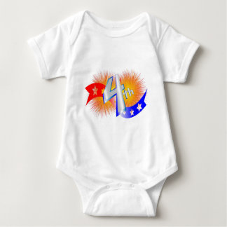 july forth baby bodysuit