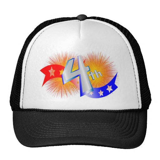 july forth mesh hats