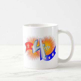 july forth basic white mug