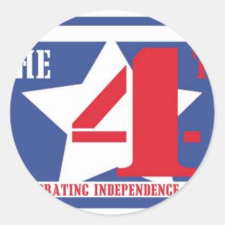 July Fourth Sticker