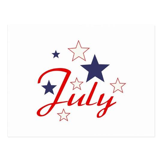 July Postcard