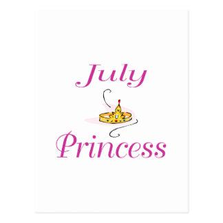 July Princess Postcard