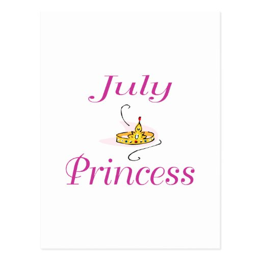 July Princess Post Cards