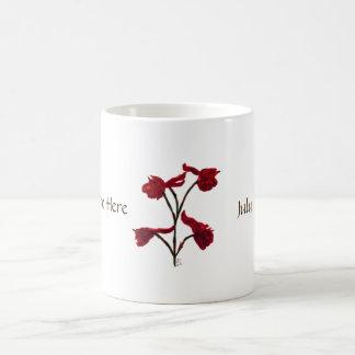 July: Ruby Larkspur Personalized Mug