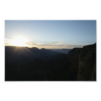 July Sunrise at the Grand Canyon Photo Art