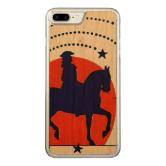 July the 4th horse patriotic Independence Day Carved iPhone 8 Plus/7 Plus Case