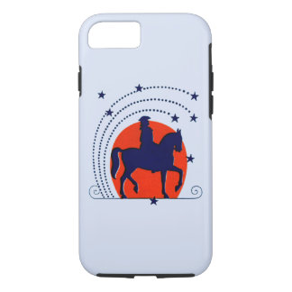 July the 4th horse patriotic Independence Day iPhone 7 Case